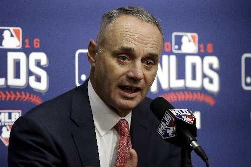 Manfred: Trump should not impact MLB international plans The Associated Press