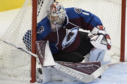 Semyon Varlamov will be back in Avalanche net Friday against Winnipeg Jets