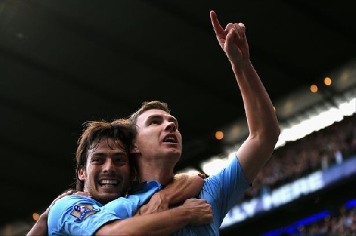 Manchester City star David Silva is the best I ever played with - Dzeko