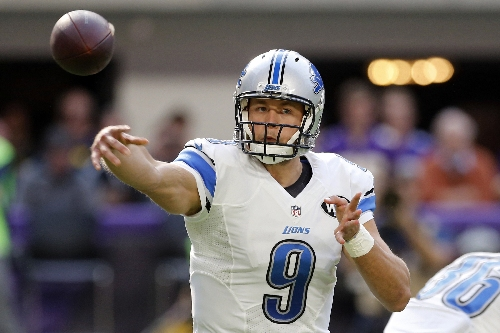 Surging Stafford lifts Lions into playoff contention The Associated Press