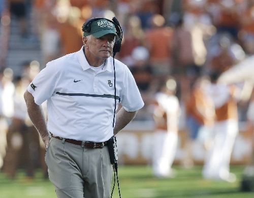 Baylor fading into final home game unranked and hurting The Associated Press