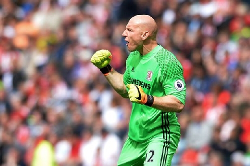 Brad Guzan admits to Middlesbrough frustration - but USA keeper is always ready for his chance