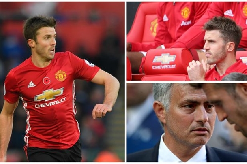 Manchester United star Michael Carrick playing for his future vs Arsenal