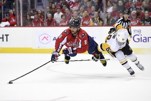 Backstrom has five-point night as Capitals rout Penguins 7-1 The Associated Press