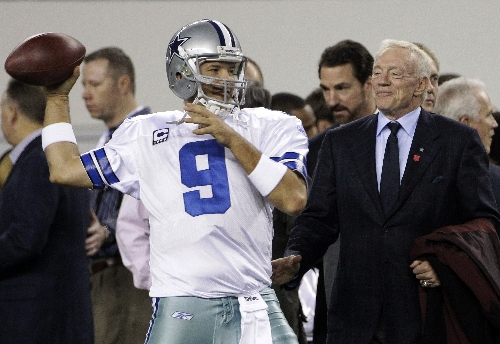 Jerry Jones: Demoted Romo still has future with Cowboys The Associated Press