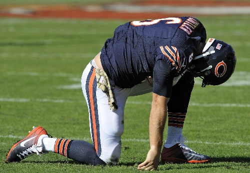 Jeffery suspension leaves Bears' Jay Cutler with new targets The Associated Press