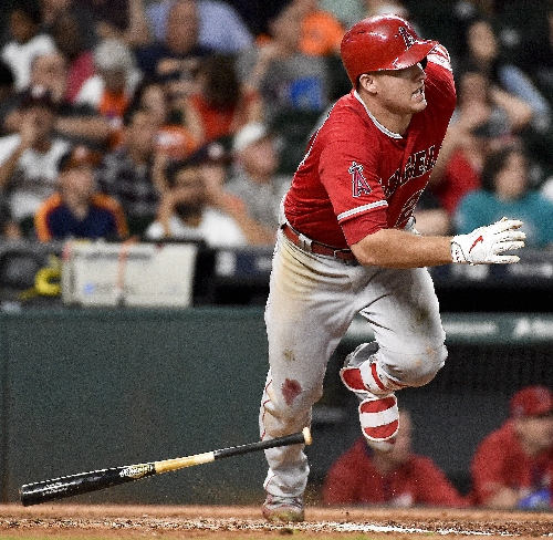 LA Angels' Mike Trout, Chicago Cubs' Kris Bryant win AL, NL MVP awards from writers