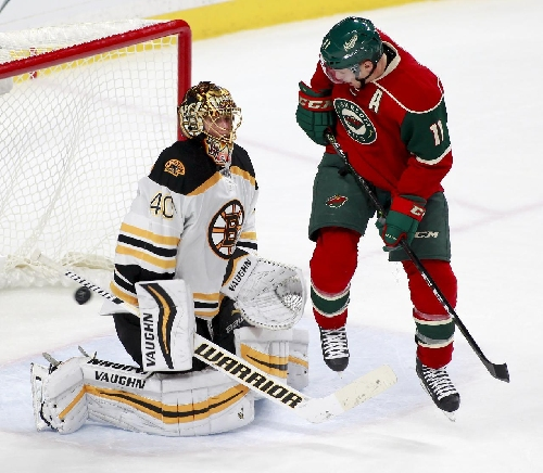 Wild forward Zach Parise scratched with illness The Associated Press