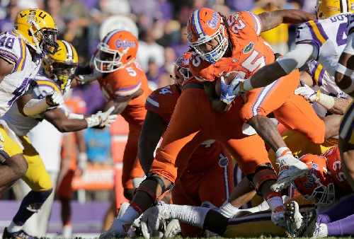 Go figure: Gators dial up longest TD in Tiger Stadium history