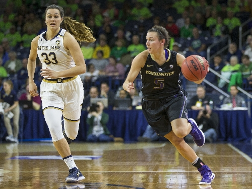 Slow start dooms Washington women in loss to top-ranked Notre Dame