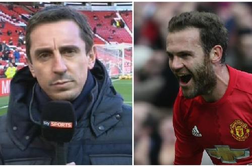 Juan Mata proves Manchester United great Gary Neville wrong