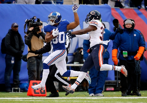 Giants' Victor Cruz embracing embracing role as 'party-starter'