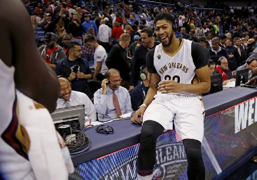 Anthony Davis: 'I just try to control what I can: go out there and compete'