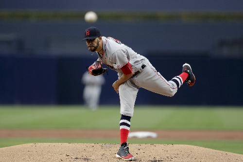 David Price, Boston Red Sox lefty, keeps mentioning his winless playoff record as a starter on Twitter