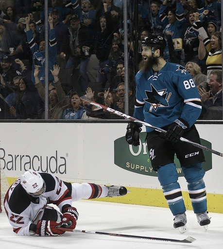 Sharks sign D Brent Burns to 8-year contract extension The Associated Press