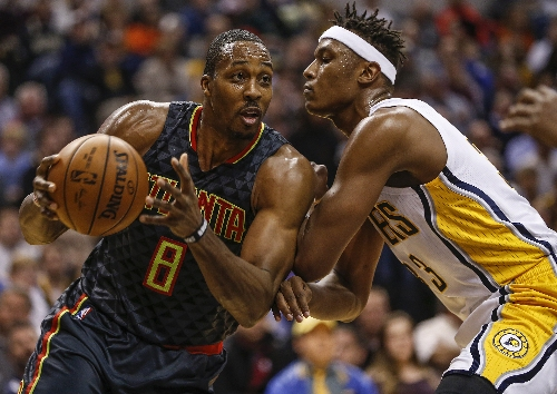 Dwight Howard, Hawks overpower Pacers, win 96-85