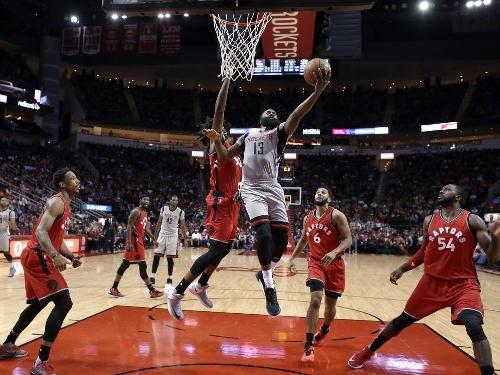 DeMarre Carroll, Toronto Raptors reclaim defensive mojo by hounding Houston Rockets star James Harden