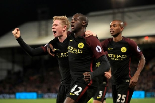 Yaya Toure starts for Man City again - but John Stones is left out for 'tactical reasons'