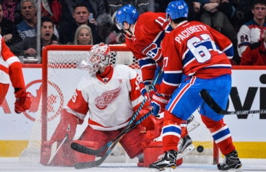Game Day: Canadiens won't have to face Red Wings goalie Jimmy Howard