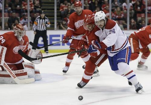 Red Wings Brendan Smith, Tyler Bertuzzi hurt vs. Canadiens, will not return