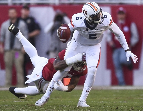 Auburn offense struggles behind Jeremy Johnson, ignites late with John Franklin III