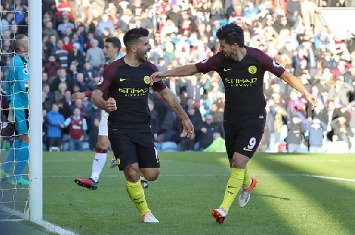 How Man City striker Sergio Aguero scored perhaps the ugliest goal of his career