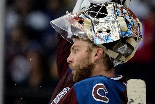 Semyon Varlamov returns to Avalanche practice but Gabe Landeskog still injured
