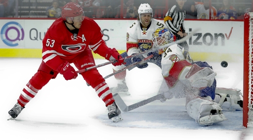 Skinner has goal and assist, Hurricanes beat Panthers 3-2 The Associated Press