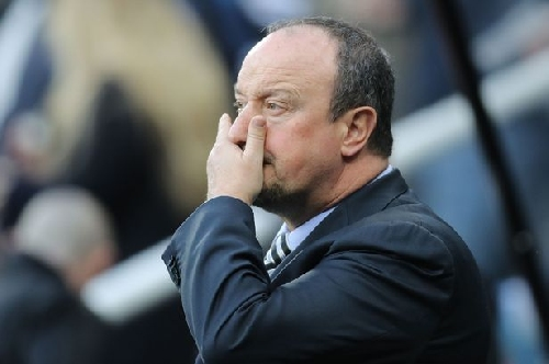 Rafa Benitez defends rotation policy - and challenges Newcastle players to bounce back