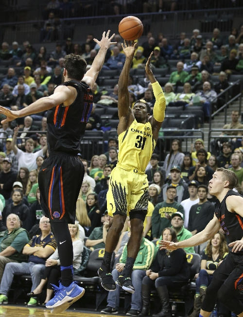 Oregon Ducks defeat Boise State 68-63: Game at a glance