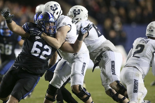 Utah State locker room: Wells sees positives after tough year for Aggies