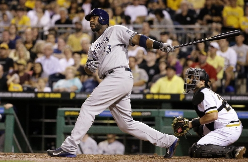 Brewers sign Eric Thames, designate slugging 1B Chris Carter The Associated Press