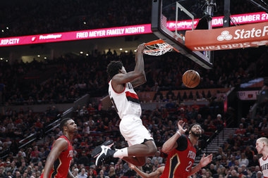 Al-Farouq Aminu remains sidelined, Trail Blazers need to find 'another level:' Practice notes