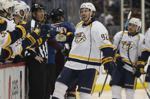 Johansen, Watson help Predators beat Avalanche 5-3 The Associated Press