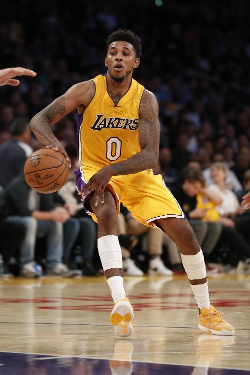 Lakers G Young sidelined by calf injury The Associated Press
