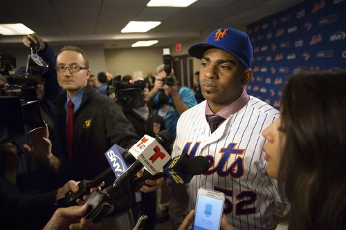 After getting $110M deal, Cespedes wants to finish with Mets The Associated Press