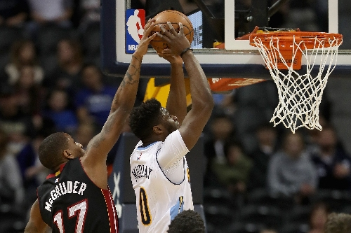 Too much Hassan Whiteside for Nuggets to handle in loss to Heat