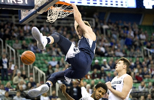 BYU Men's Hoops: Cougars dominate boards to top Aggies