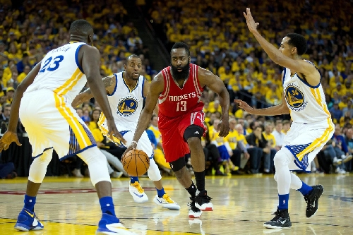 Preview: Warriors host James Harden & the Rockets to the Bay