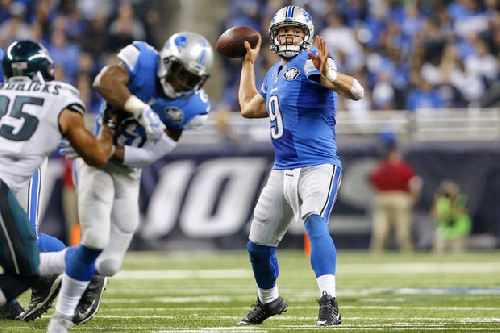 How Detroit Lions QB Matthew Stafford's first 8 years compare to top peers