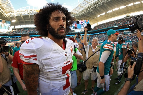 Comparing assessing Colin Kaepernick to the maze in The Shining