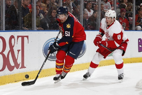 Gameday Update: Panthers at Detroit Red Wings Line Combinations, Key Matchups