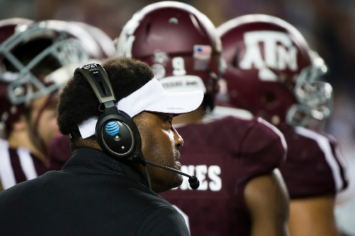 Report: A&M president says he fully supports Kevin Sumlin
