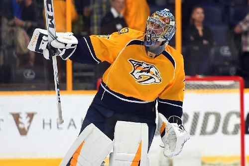 Pekka Rinne Named NHL's First Star of the Month