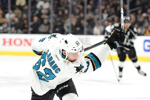 Sharks lines get pureed in win over Kings