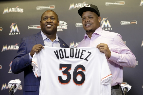 Volquez finalizes $22 million, 2-year contract with Marlins The Associated Press