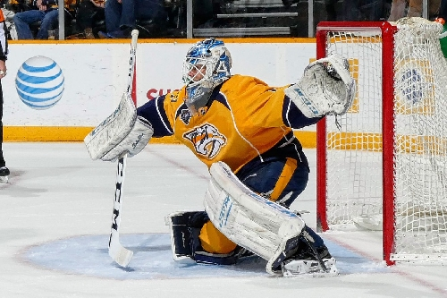 Juuse Saros Named AHL Goaltender of the Month