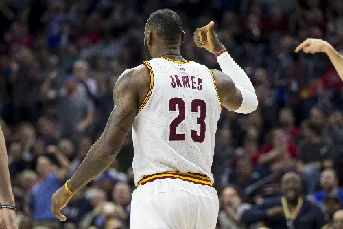 Cavaliers forward LeBron James passes Boston Celtics Bob Cousy for 16th on NBA all-time assists list