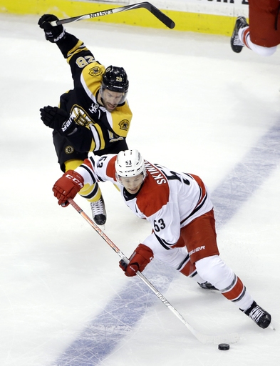 Bruins top Hurricanes 2-1 in shootout The Associated Press