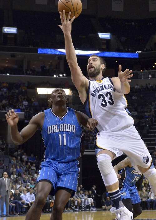 Gasol scores 25 as Grizzlies rally to edge Magic 95-94 The Associated Press